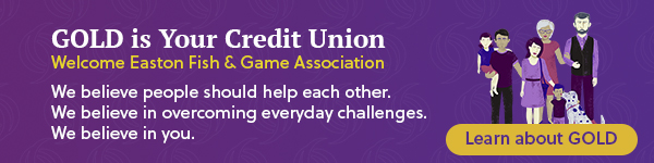 Gold Credit Union EFGA landing page